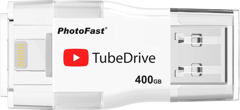 Photofast TubeDrive и TubeReader – флешка и microSD-картридер для скачивания видео из YouTube на iOS