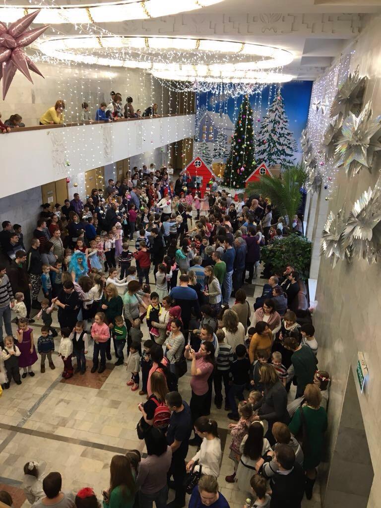 Благотворительная рождественская елка 2018